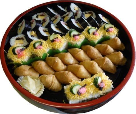 助六押寿司盛合せ